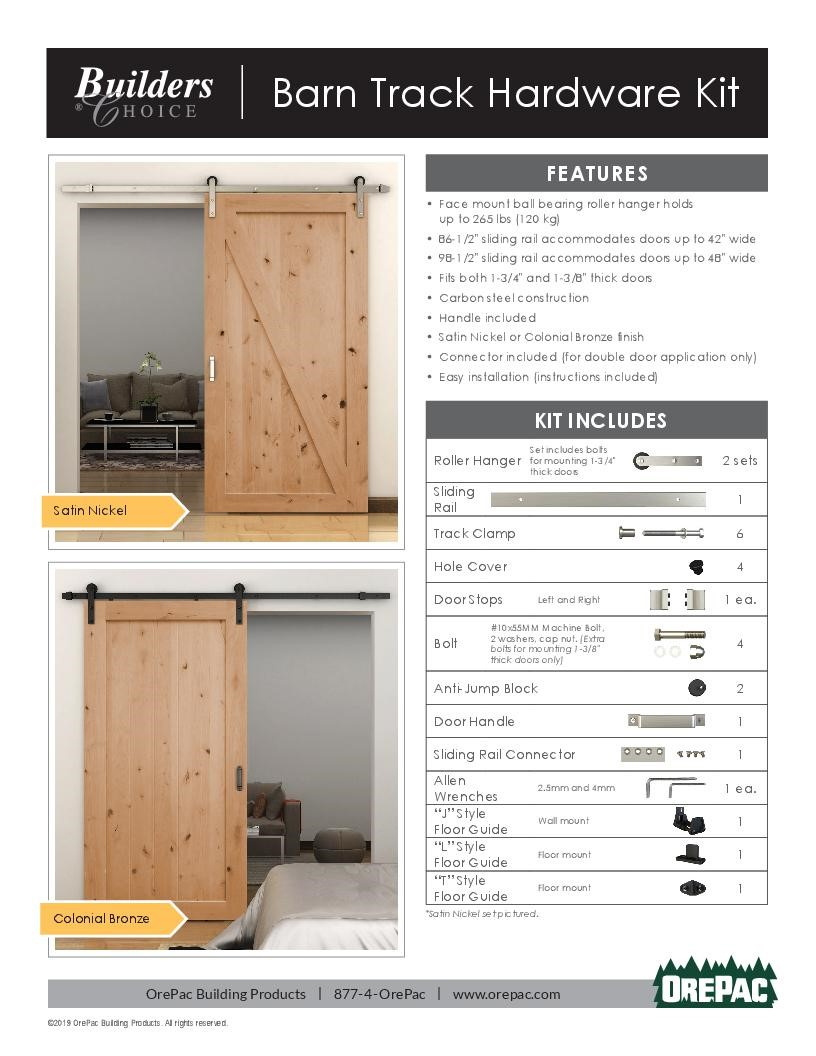 Doors Orepac Building Products