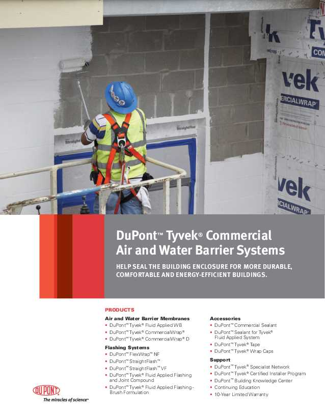 DuPont Tyvek Commerical Accessories.pdf