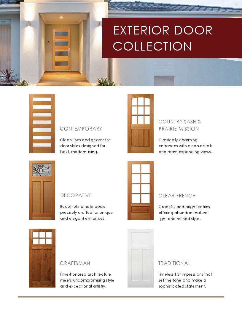 Doors | OrePac Building Products
